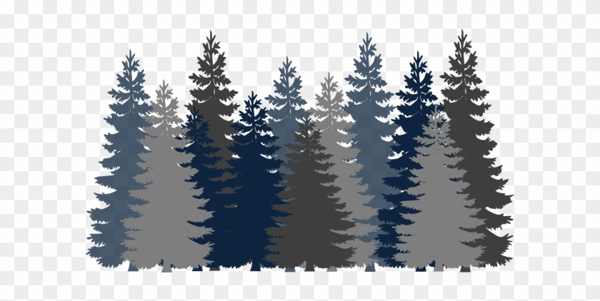 Pine Tree Clipart Forrest Forest Clipart Png Free Transparent