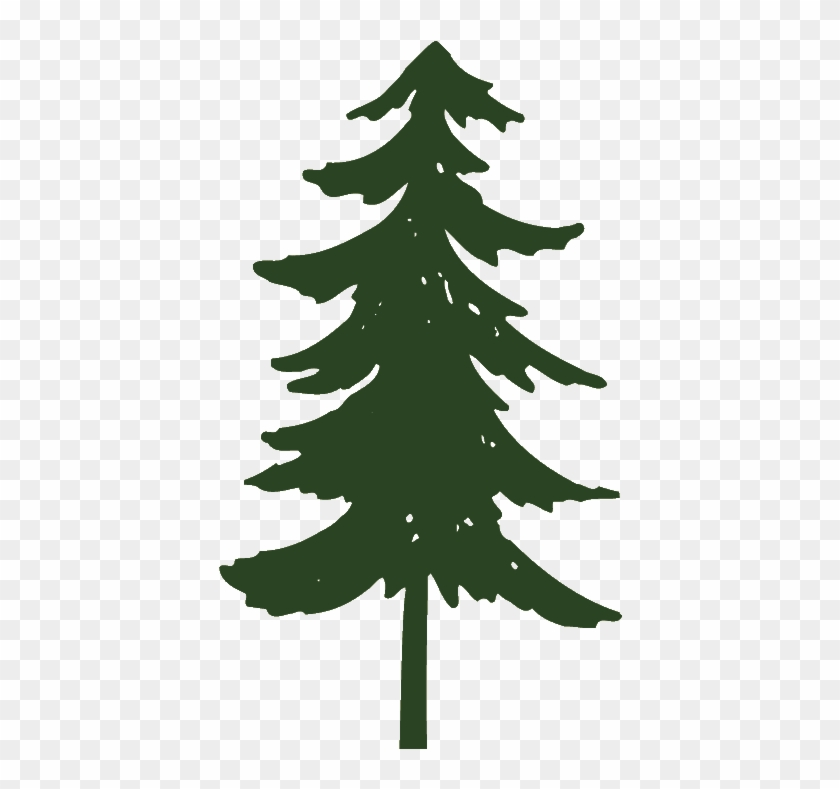 Pine Tree Silhouette Clipart Cliparting - Pine Tree Clip Art #388116