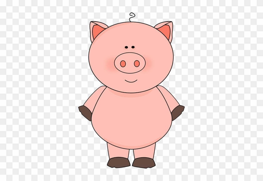 Cute Pig Clip Art Image - My Cute Graphics Pig #388345