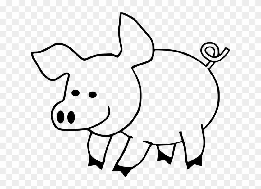 Cute Pig Coloring Pages #388346