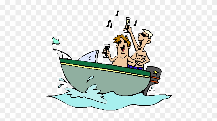 Fishing Boat Clipart Humorous Party Boat Clip Art Free Transparent Png Clipart Images Download