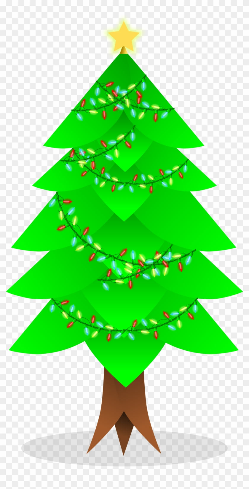 Christmas Tree Vector - 5th Grade Word Problems Worksheets #388495