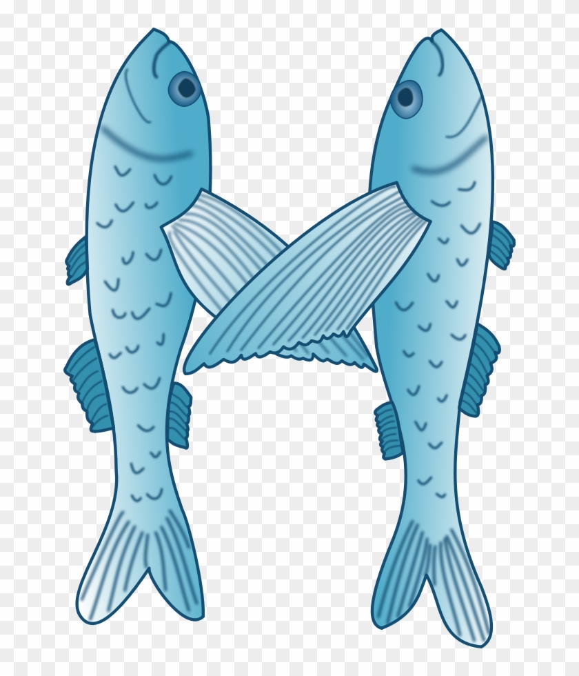 Christian Fish Clipart, Vector Clip Art Online, Royalty - Flying Fish #388613