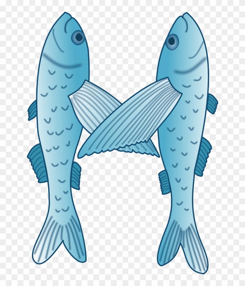 Christian Fish Clipart, Vector Clip Art Online, Royalty - Flying Fish #388613