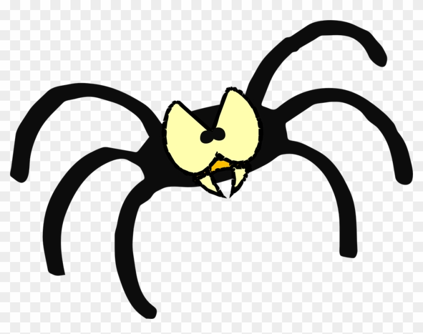 Angry Cartoon Eyes 9, Buy Clip Art - Scary Spider Clipart@clipartmax.com