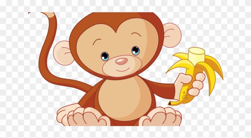 Free Images Download 2018 Monkey Clipart No Background - Baby Monkey Clip Art #388734