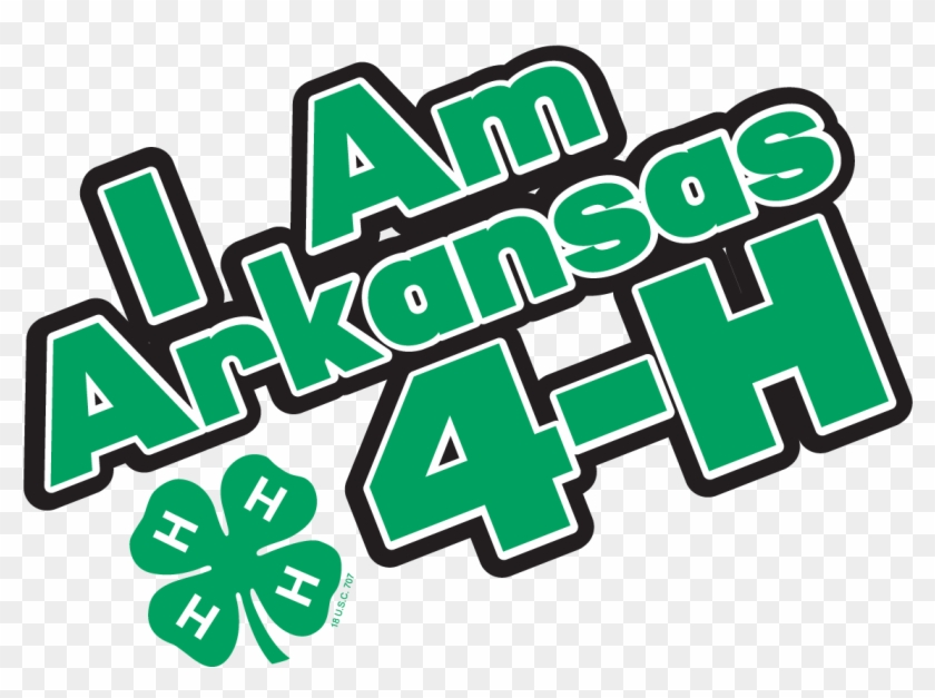 I Am Arkansas 4-h Logo - Arkansas 4 H #388932