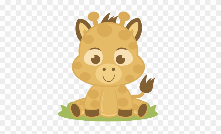 Baby Animal Svg - Baby Zoo Animals Png #389263