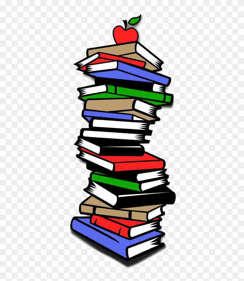 Pin Stack Of Books Clipart - Used Book Sale Clipart #389300