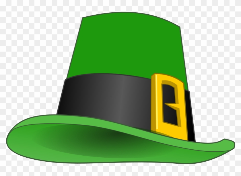 Leprechaun Hat Clip Art - Saint Patricks Day Hat #389330