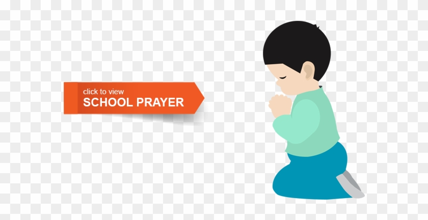 Pray Clipart School Prayer - School Prayer Cartoon #389514