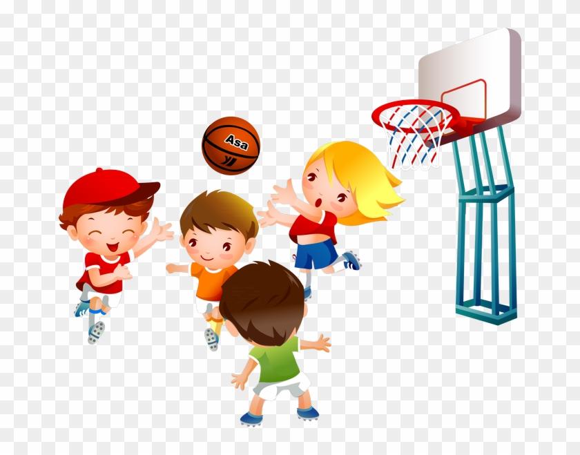 Фото, Автор Arana На Яндекс - Boys Playing Basketball #389515