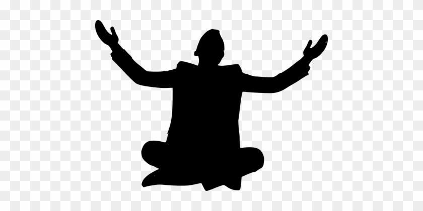 silhouette belief pray hope believe silueta de persona orando