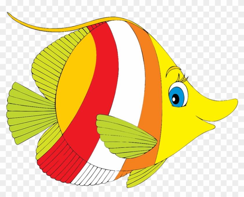María José Argüeso - Tropical Fish Clip Art #390157