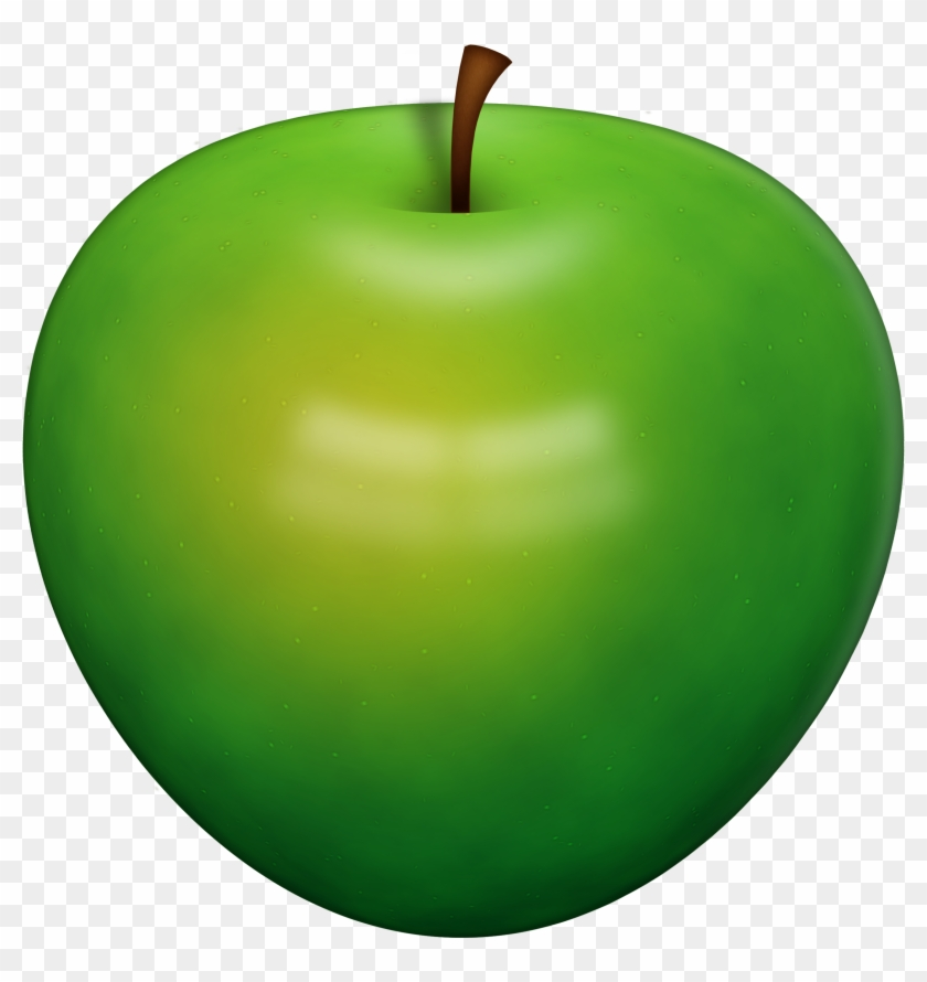 Green Apple Png - Green Apple Clipart Png #390364
