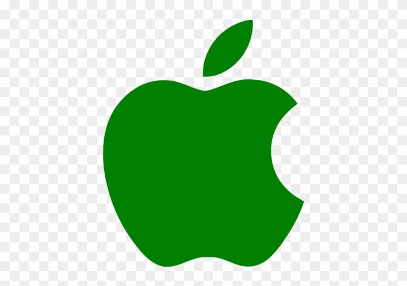 Dark Blue Apple Logo #390370