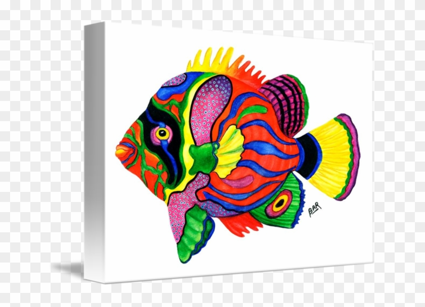 Colorful Tropical Fish #390465