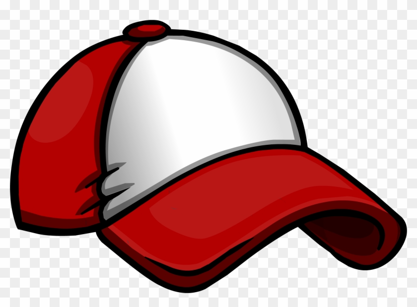 New Player Red Baseball Hat - Club Penguin Music Jam Cap #390571