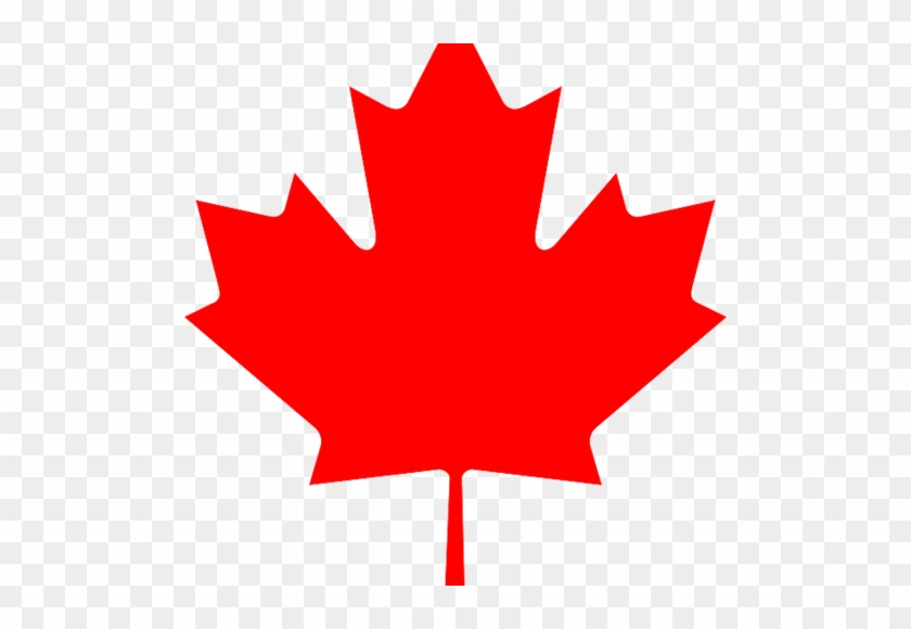 Maple Leaf Outline Clipart - Canada Flag Maple Leaf #390768