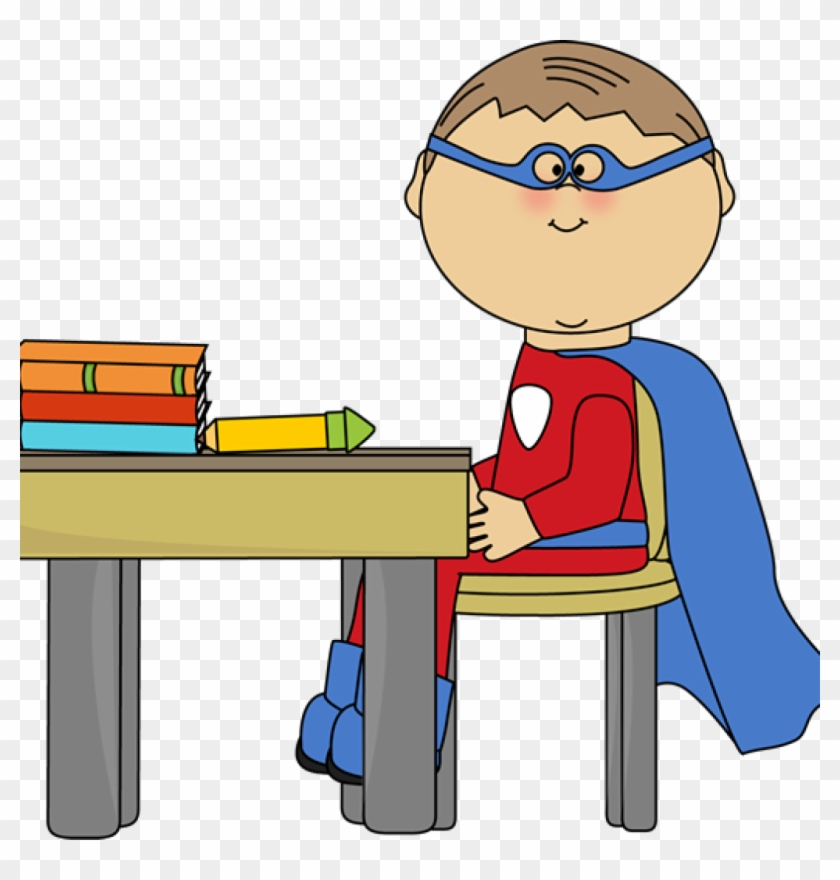 Superhero Kids Clipart Superhero Clip Art Superhero - Superhero At School #390818