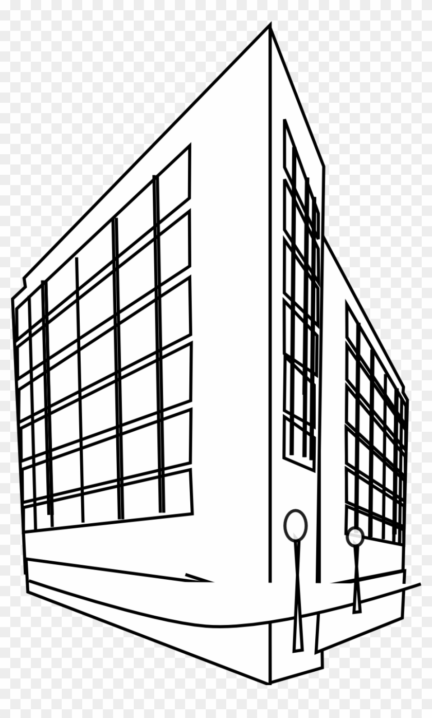 Construction Clipart Black And White - Building Clipart Black And White #390948