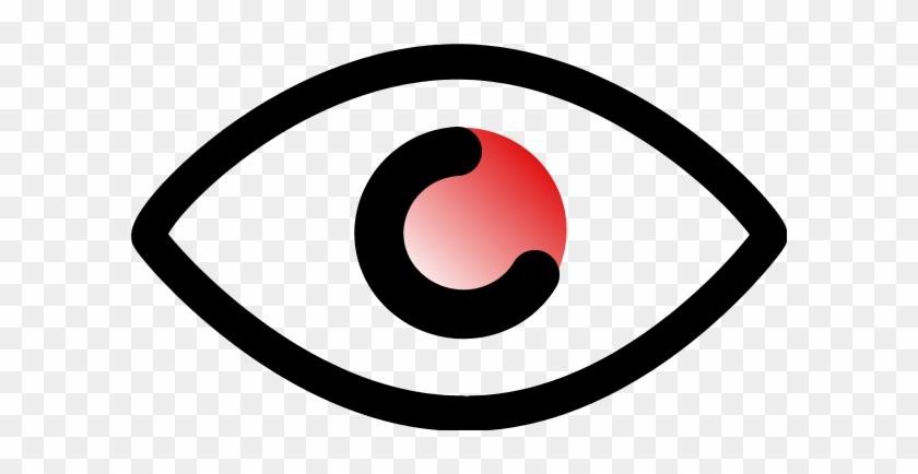 Left Eyes Look Clipart - Clip Art #390993