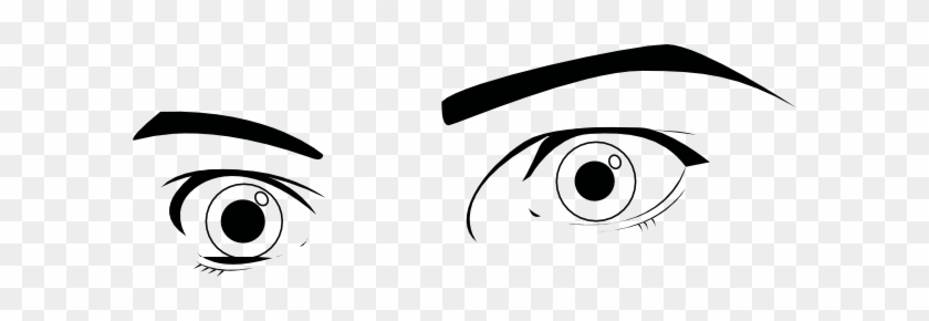 Eyeball Clipart Wide Eye - Eyes Wide Open Clip Art #391002