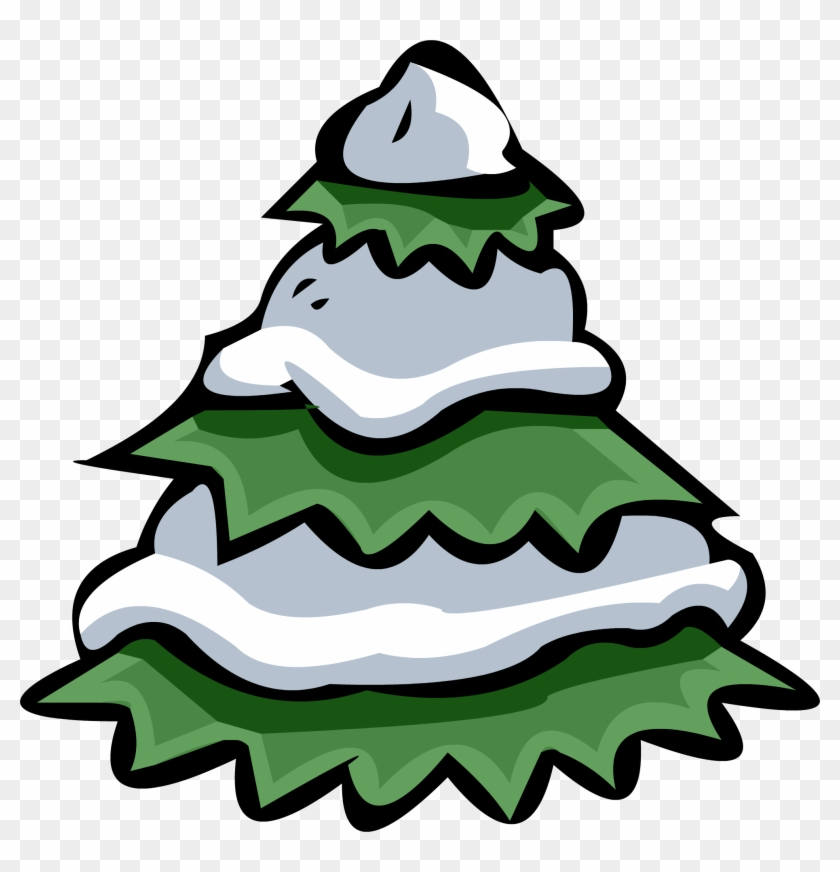 W 1963020905 - Club Penguin Pine Tree #391060