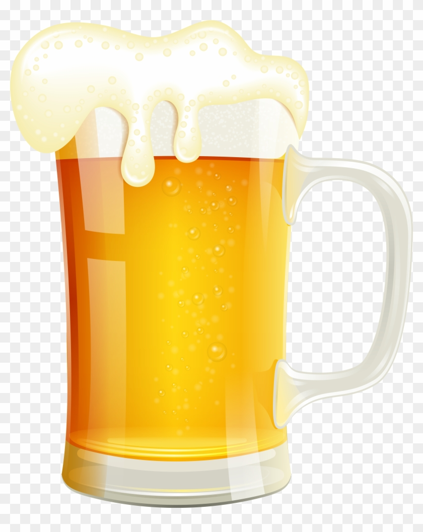 Beer Clipart High Resolution - Beer Glass Vector Png #391326