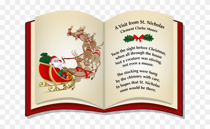 Twas The Night Before Christmas Clipart Clipartxtras - Twas The Night Before Christmas #391710