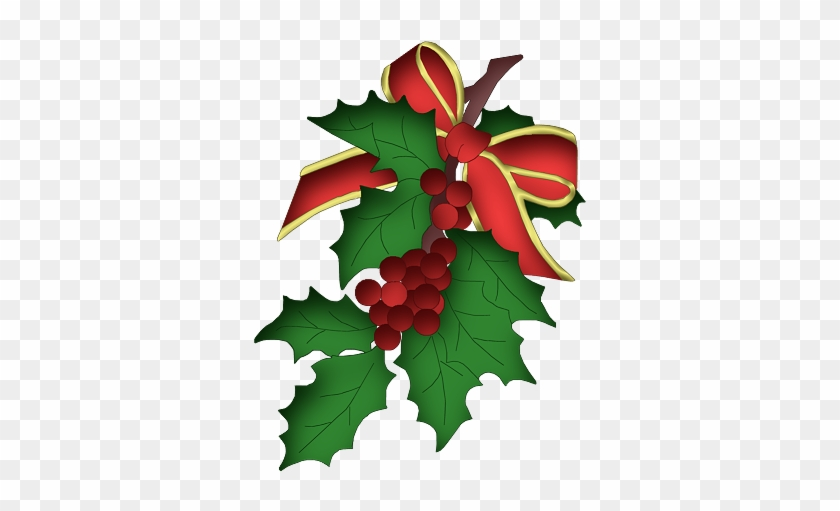 My Waiting List Is Long Enough That There Is No Longer - Christmas Holly And Berries #391752