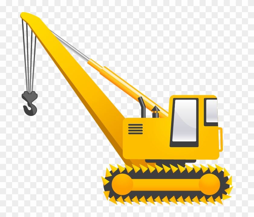 construction vehicles vector pack - crane vector png - free transparent png  clipart images download  clipartmax