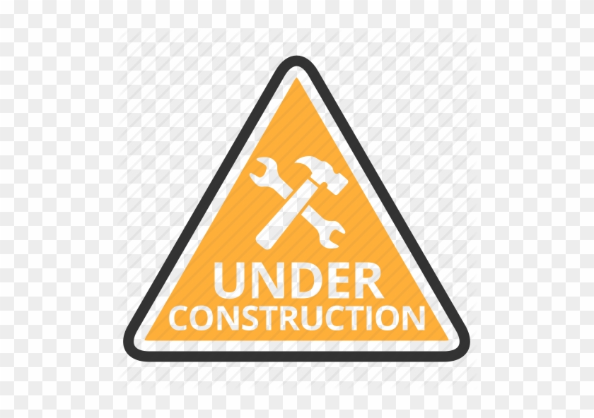 Under Construction Png Clipart - Under Construction Sign Png #391930