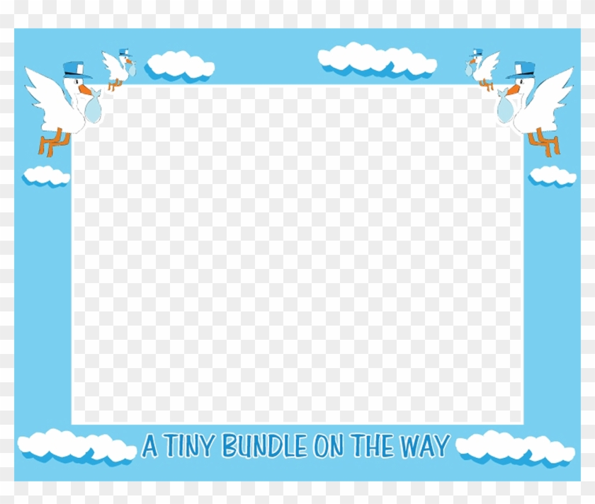Download Free Clip Free Baby Shower Clip Art Borders Frame Baby