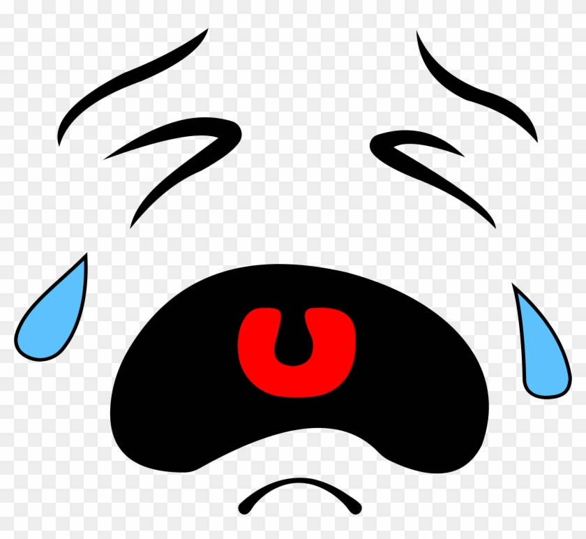 Crying Smiley Face Crying Face Clipart Free Transparent Png