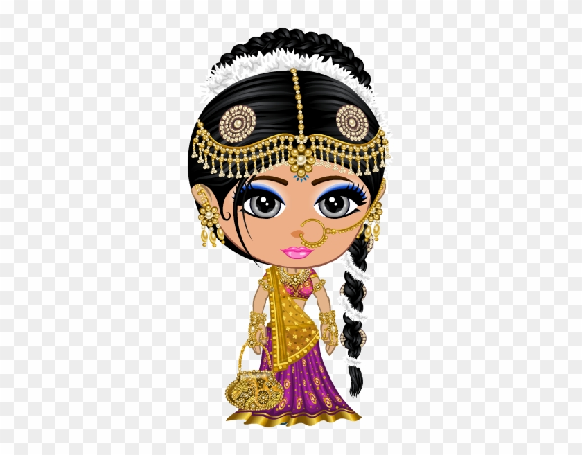 We Make Your Dreams Wedding Come True - Indian Bride Clipart Png #392400