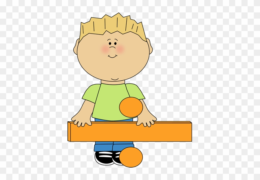 Kid Standing Behind Math Division Sign Clip Art - Division Clipart #392533