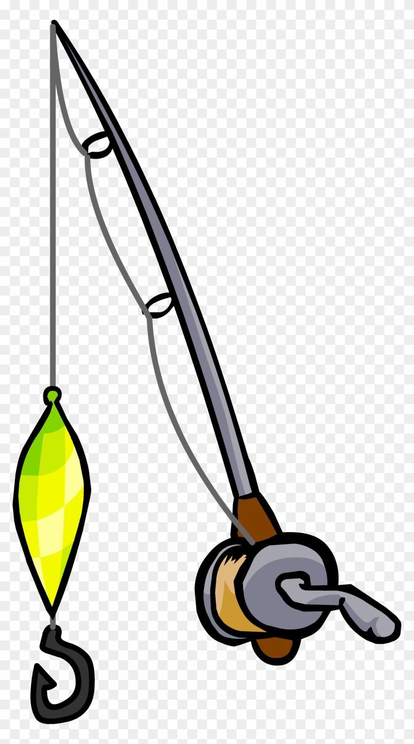 Flashing Lure Fishing Rod - Fishing Pole And Lure #392805