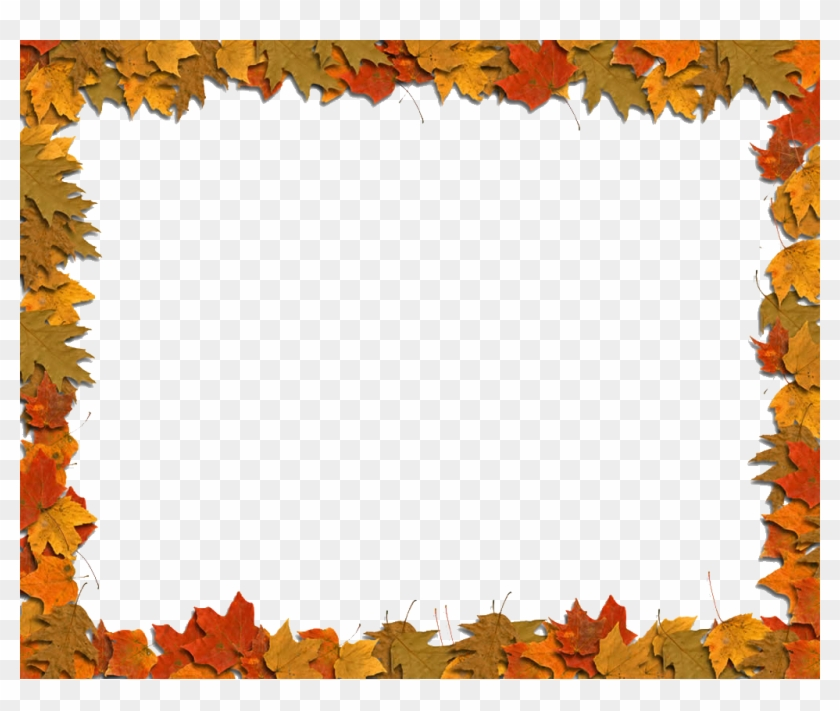 Autumn Leaf Color Clip Art - Fall Leaf Border Clip Art #393263