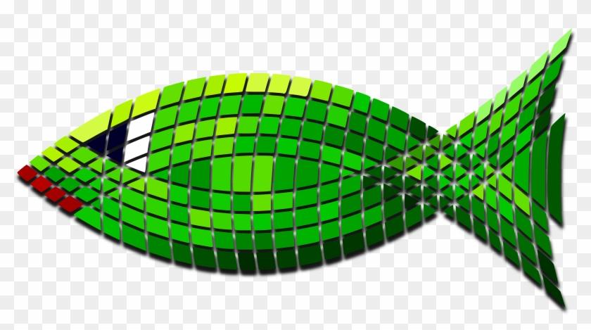 Big Image - Green Fish #393446