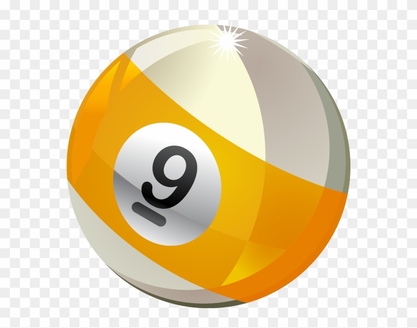 Billiard Ball Clipart 9