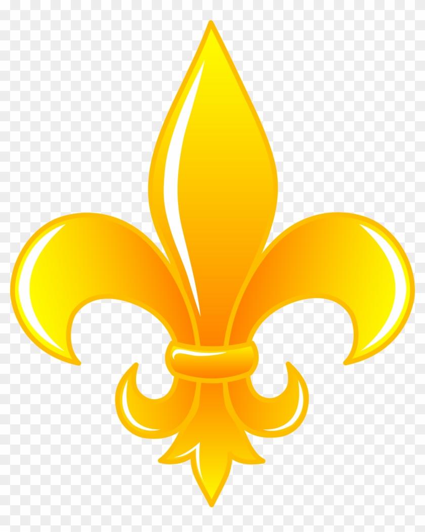 Fleur De Lis Clipart Gold Fleur De Lis Png Free Transparent Png