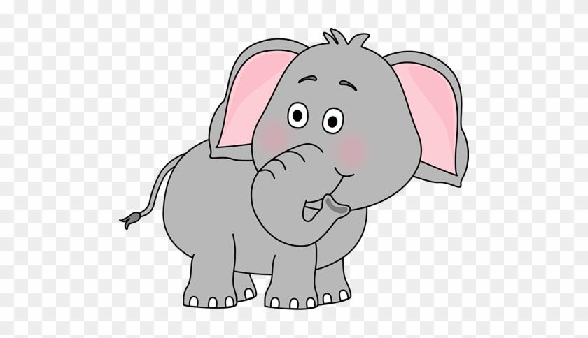 Cute Baby Elephant Clip Art - Elephant Clipart #393578