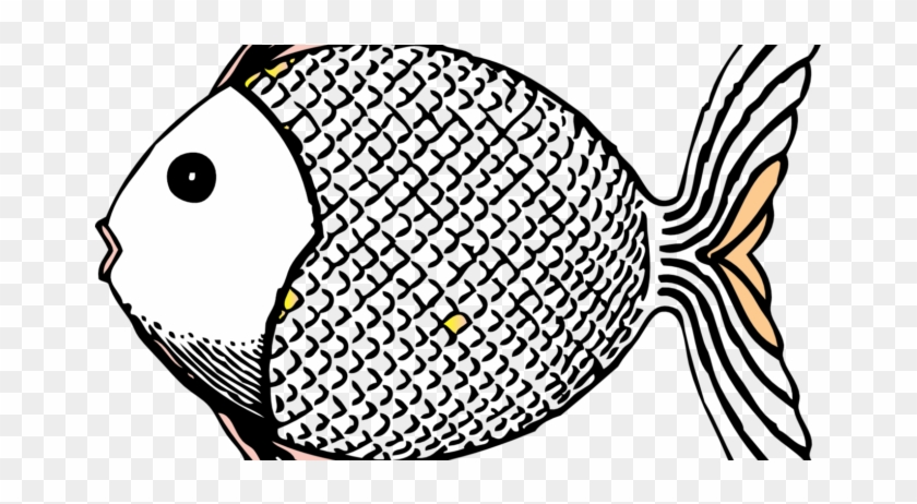 Top Images 2018 Fish Clipart Photos Black And White - Tropical Fish Shower Curtain #393593