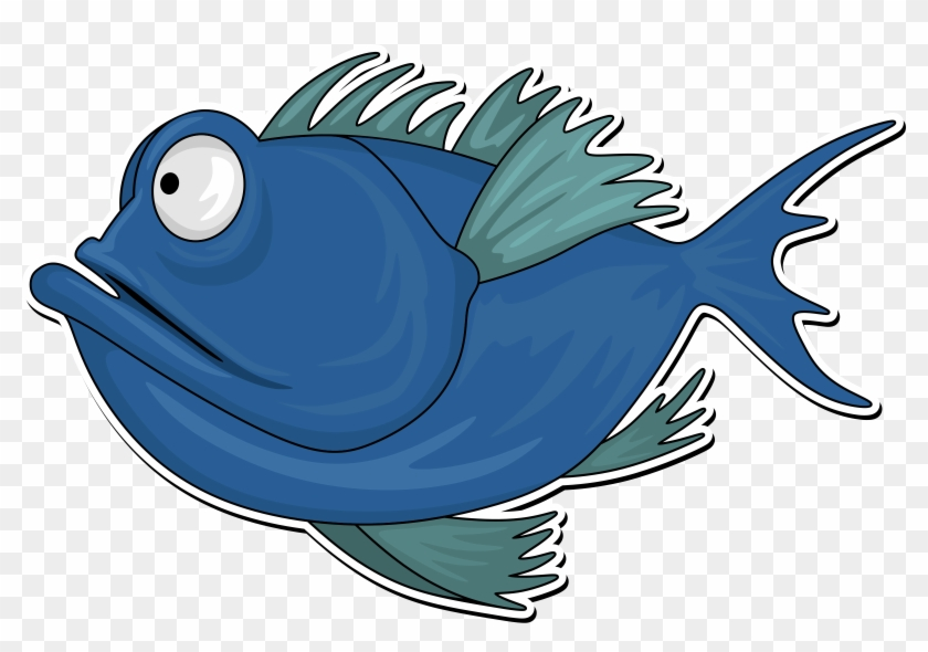 Big Image - Clipart Cartoon Fish #393734