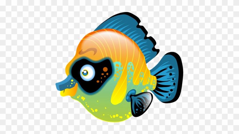 Dieser Fisch Schillert Und Leuchtet In Den Intensivsten - Coral Reef Fish #393994