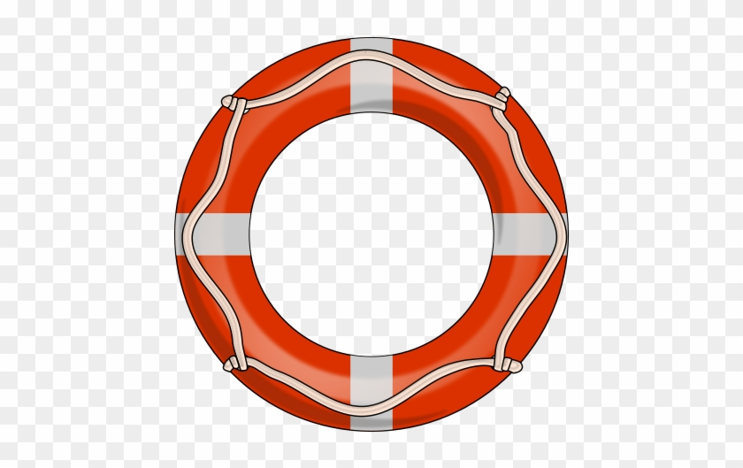 Free To Use Public Domain Boat Clip Art - Life Preserver Ring Png #393997
