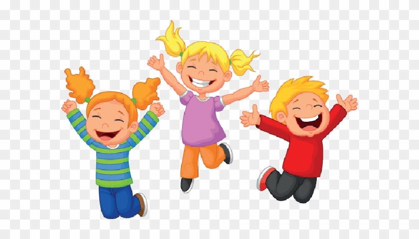 Happy Children - Happy Cartoon Kids - Free Transparent PNG ...