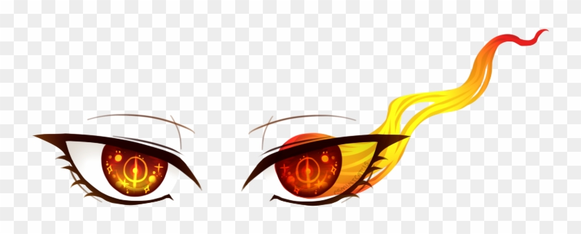Reika Also Got Some More Eye Art This Time From Larkoftherriver - Eyes On Fire Png #394557