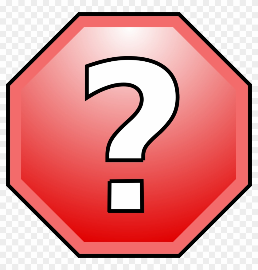 Stop Sign Template - Stop Sign With Question Mark #394953